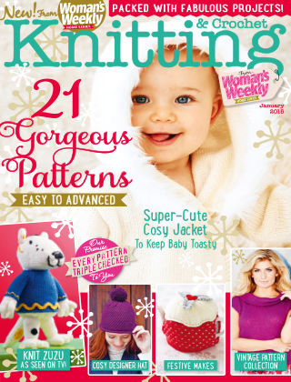 Woman's Weekly Knitting & Crochet January 2015