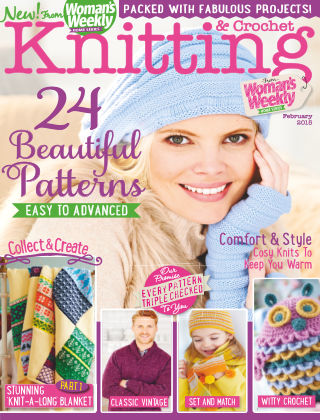 Woman's Weekly Knitting & Crochet February 2015