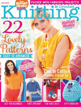 Woman's Weekly Knitting & Crochet July 2015