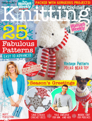 Woman's Weekly Knitting & Crochet December 2015
