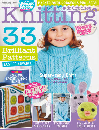 Woman's Weekly Knitting & Crochet February 2016