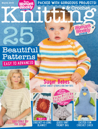 Woman's Weekly Knitting & Crochet March 2016