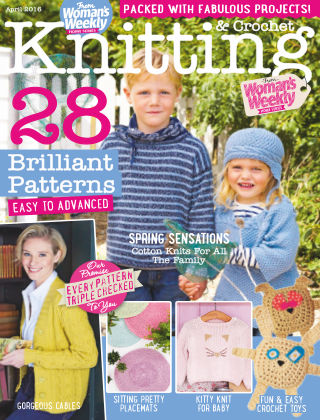 Woman's Weekly Knitting & Crochet April 2016