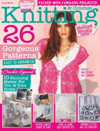 Woman's Weekly Knitting & Crochet June 2016