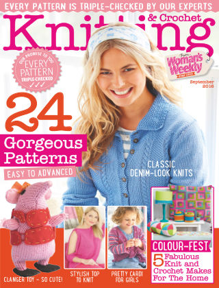 Woman's Weekly Knitting & Crochet September 2016