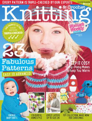 Woman's Weekly Knitting & Crochet January 2017