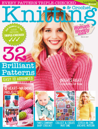 Woman's Weekly Knitting & Crochet March 2017