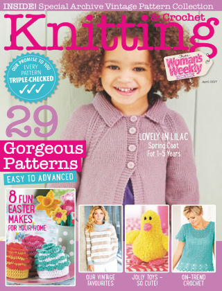 Woman's Weekly Knitting & Crochet April 2017
