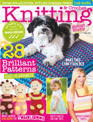 Woman's Weekly Knitting & Crochet July 2017