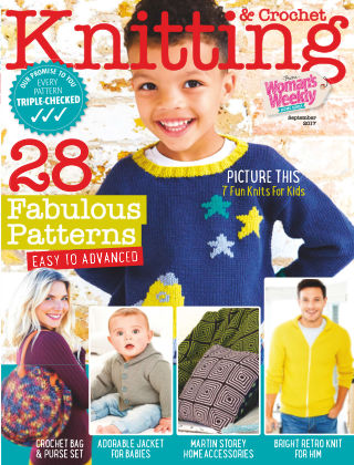 Woman's Weekly Knitting & Crochet September 2017