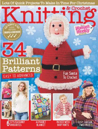 Woman's Weekly Knitting & Crochet January 2018