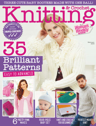 Woman's Weekly Knitting & Crochet February 2018