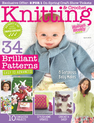 Woman's Weekly Knitting & Crochet April 2018