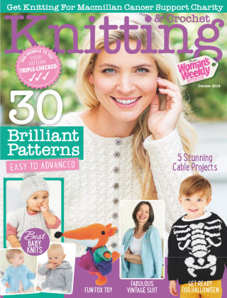 Woman's Weekly Knitting & Crochet October 2018