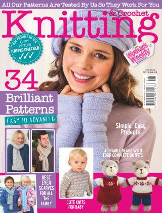 Woman's Weekly Knitting & Crochet Jan 2019
