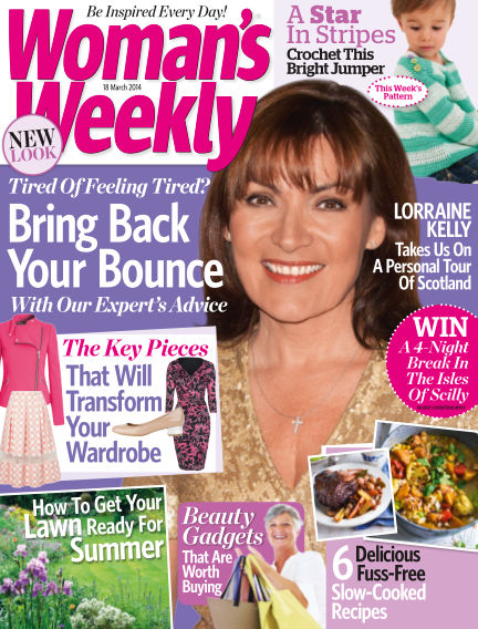 Woman's Weekly - UK March 19, 2014 00:00