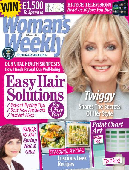 Woman's Weekly - UK February 26, 2014 00:00
