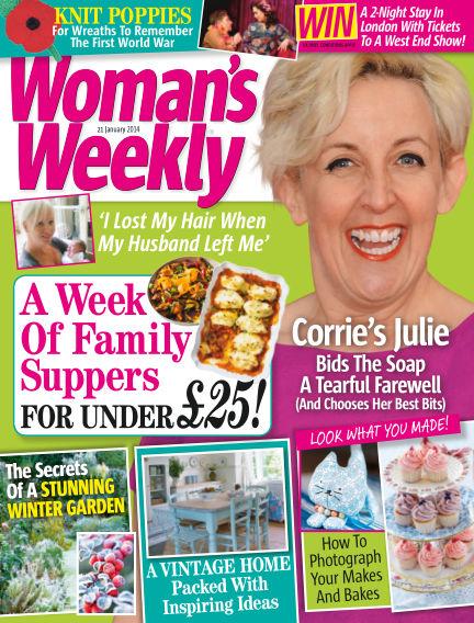 Woman's Weekly - UK January 22, 2014 00:00