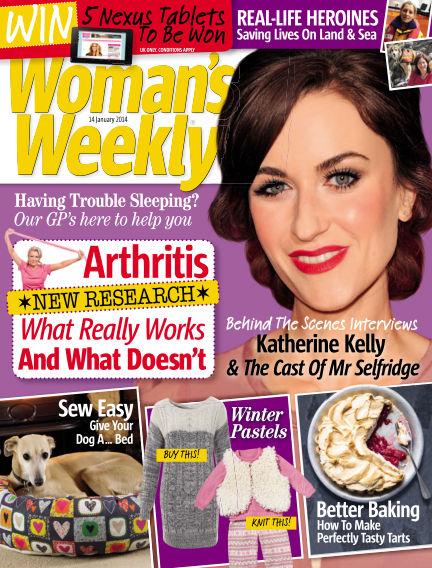 Woman's Weekly - UK January 15, 2014 00:00