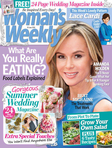 Woman's Weekly - UK June 11, 2014 00:00