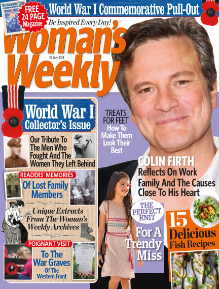 Woman's Weekly - UK July 30, 2014 00:00