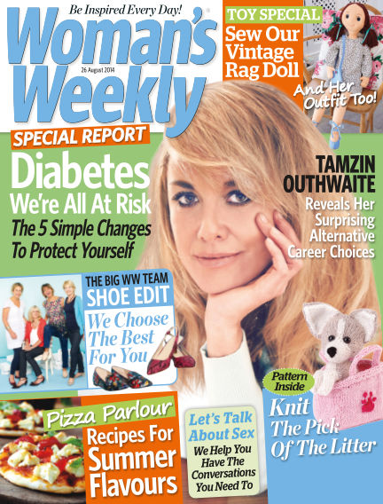 Woman's Weekly - UK August 27, 2014 00:00