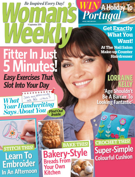 Woman's Weekly - UK September 10, 2014 00:00