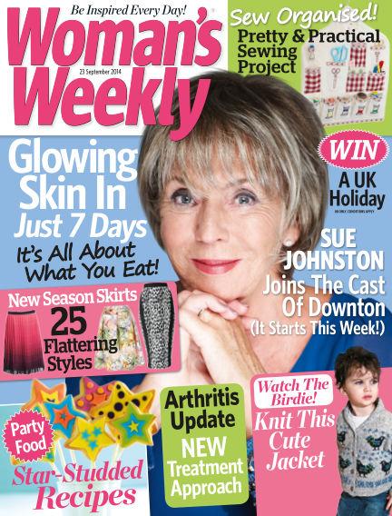 Woman's Weekly - UK September 24, 2014 00:00
