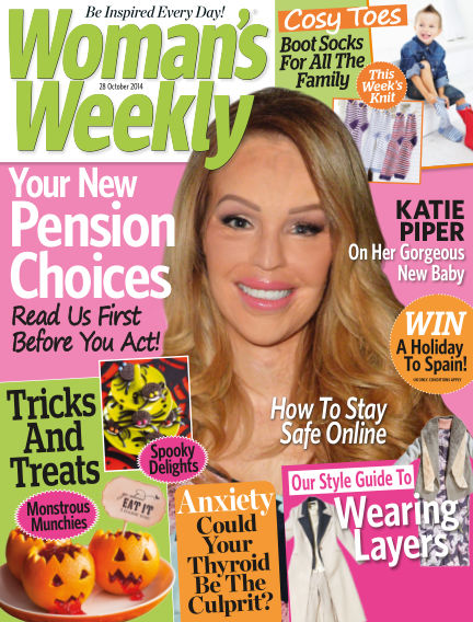 Woman's Weekly - UK October 29, 2014 00:00