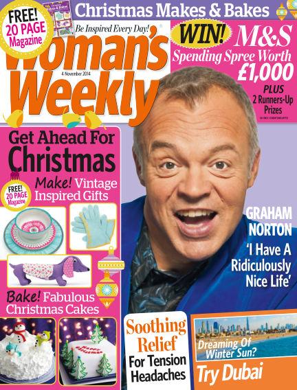 Woman's Weekly - UK November 05, 2014 00:00