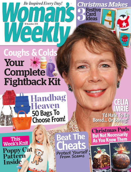 Woman's Weekly - UK November 19, 2014 00:00