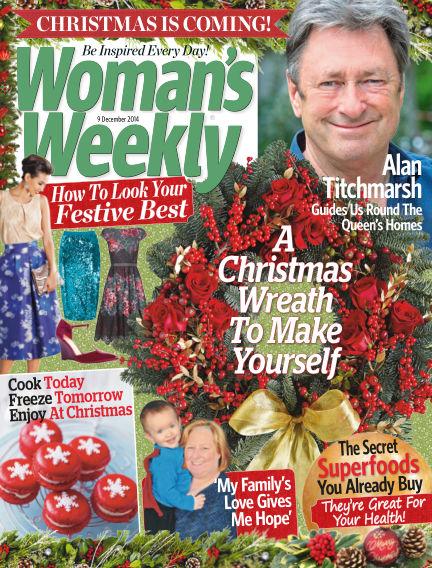 Woman's Weekly - UK December 10, 2014 00:00