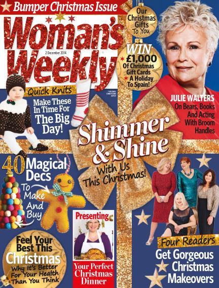 Woman's Weekly - UK December 03, 2014 00:00