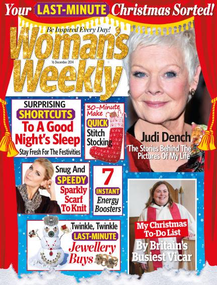 Woman's Weekly - UK December 17, 2014 00:00