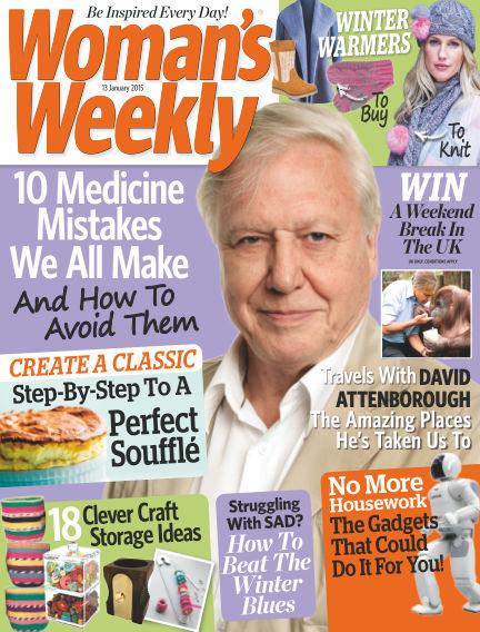 Woman's Weekly - UK January 14, 2015 00:00