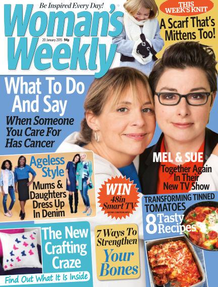 Woman's Weekly - UK January 21, 2015 00:00