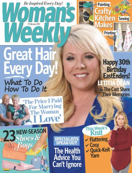 Woman's Weekly - UK February 18, 2015 00:00