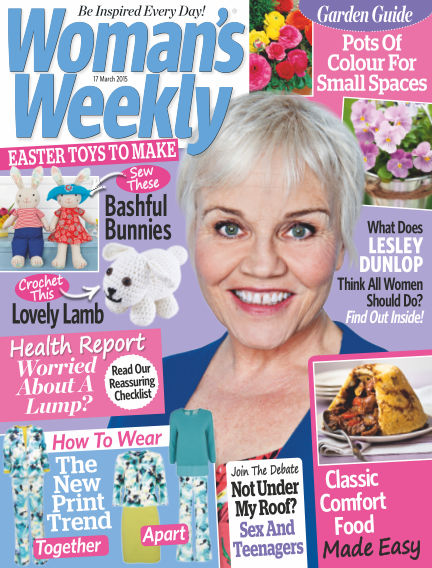 Woman's Weekly - UK March 18, 2015 00:00