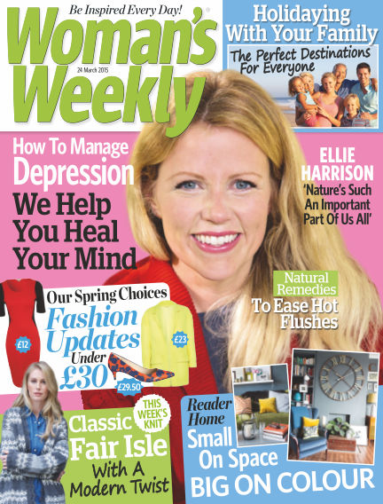 Woman's Weekly - UK March 25, 2015 00:00