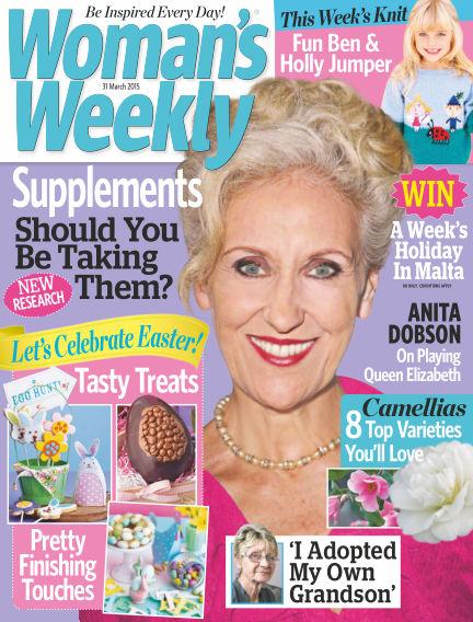 Woman's Weekly - UK April 01, 2015 00:00