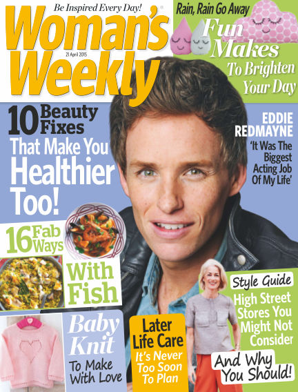 Woman's Weekly - UK April 22, 2015 00:00