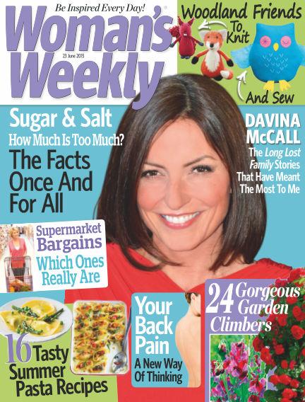 Woman's Weekly - UK June 24, 2015 00:00