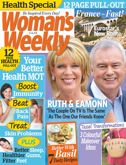 Woman's Weekly - UK July 22, 2015 00:00