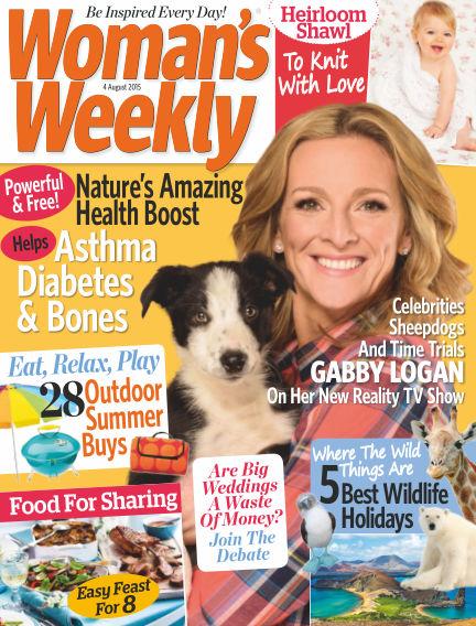 Woman's Weekly - UK August 05, 2015 00:00