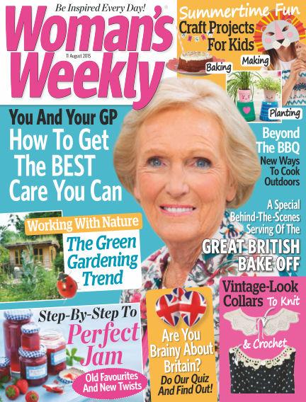 Woman's Weekly - UK August 12, 2015 00:00