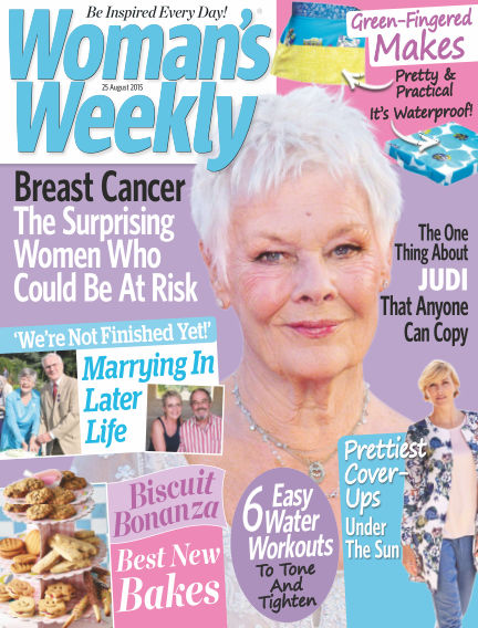 Woman's Weekly - UK August 26, 2015 00:00