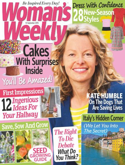 Woman's Weekly - UK September 16, 2015 00:00