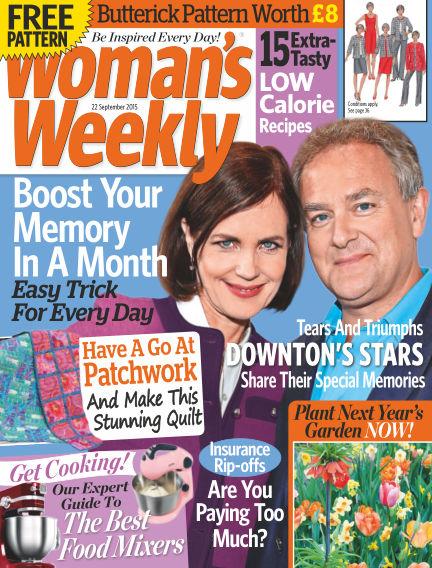 Woman's Weekly - UK September 23, 2015 00:00