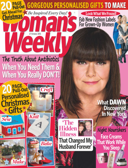 Woman's Weekly - UK October 28, 2015 00:00