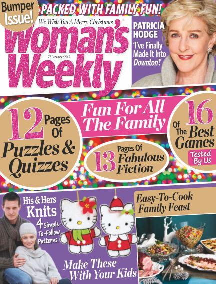 Woman's Weekly - UK December 23, 2015 00:00